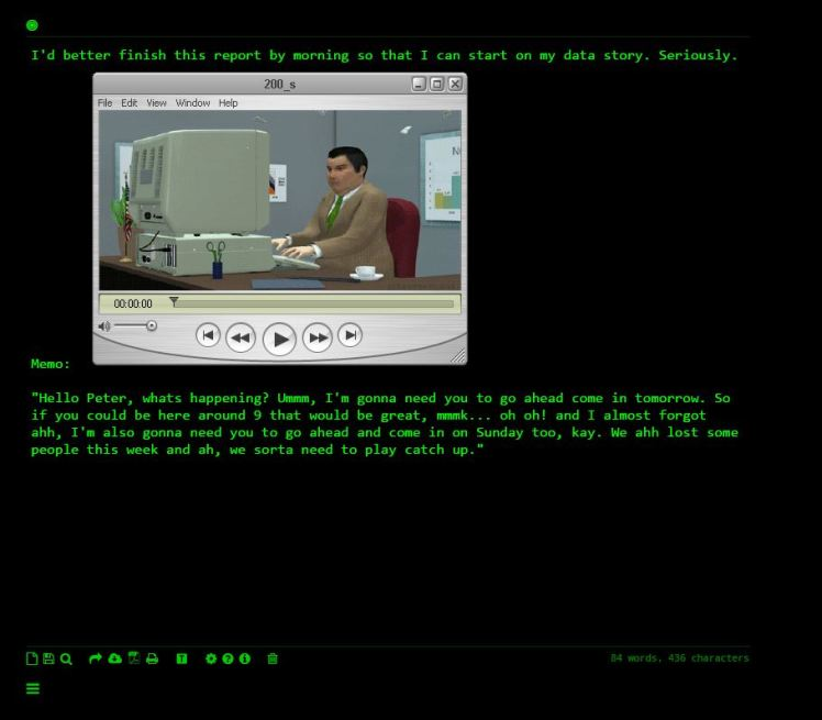 Terminal Data Comic