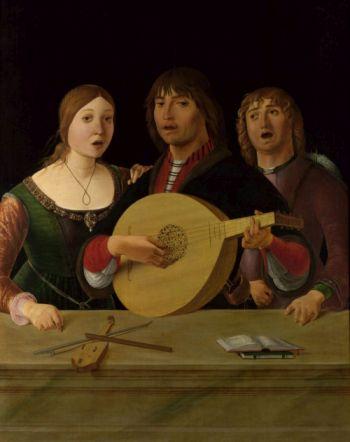"image file ""Concert"" - Erocle de' Roberti c. 1490"