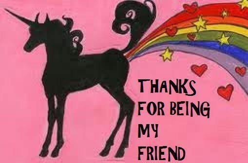 unicorn image rainbow