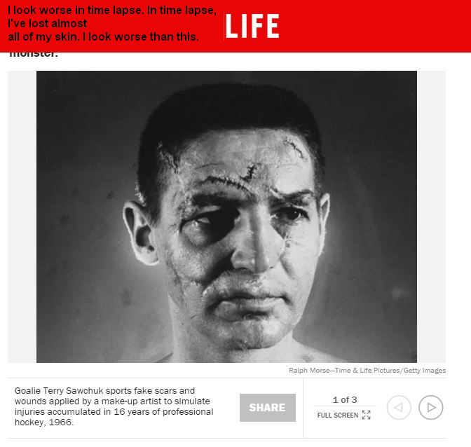 Terry Sawchuck Time Lapse