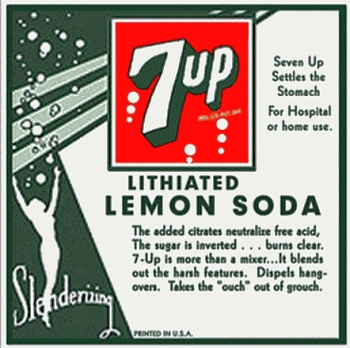 Lithiated Lemon Soda