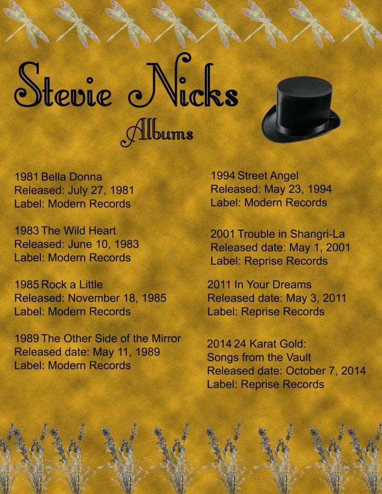 Stevie Nicks Discography