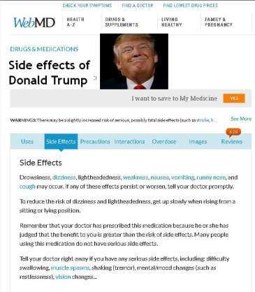 Trump Side Effects image
