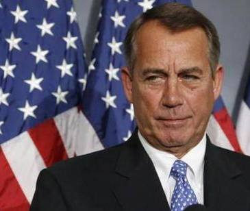 Head of the US House of Representatives John Boehner