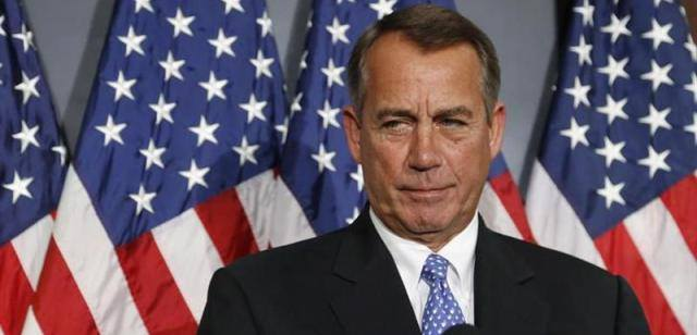 Head of the US House of Representatives John Boehner